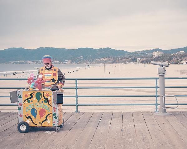 Clown Photograph - The Clown by Nastasia Cook