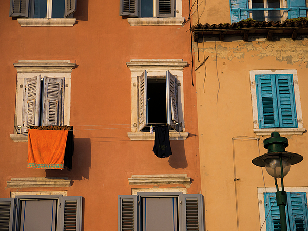 Rovinj Photograph - The Color Of Drying by Rae Tucker