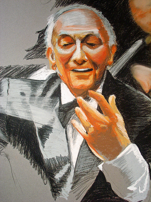 Orchestra Pastel - The Conductor by Kerry Burch