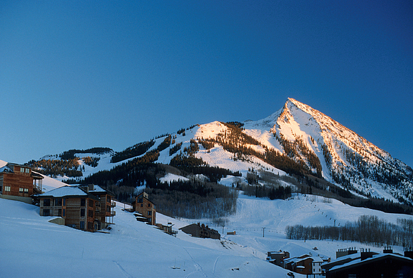 Crested Butte Photograph - The Crested Butte by Jerry McElroy