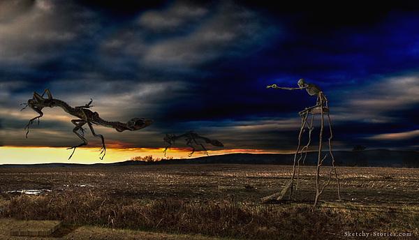 Death Photograph - The Crippled Chaos by Nicholas Damario