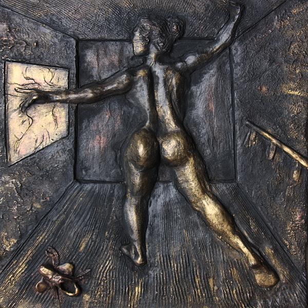 Female Nude Sculpture - The Dance Studio by Dan Earle