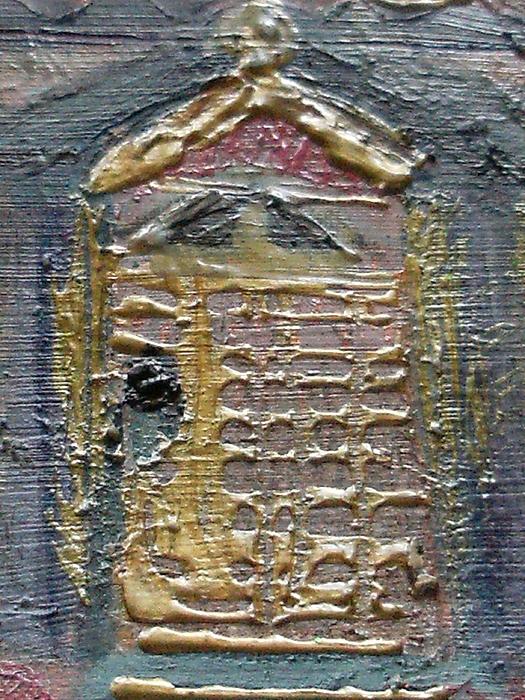 Door Painting - The Door by Anne-Elizabeth Whiteway