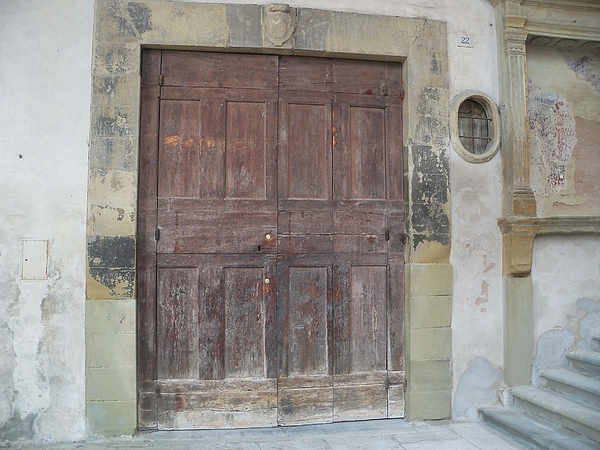 Door Photograph - The Door In Arezzo by Sergei Pimenov