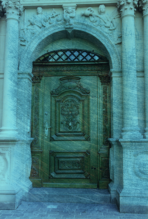 Architecture Photograph - The Door To The Secret by Susanne Van Hulst