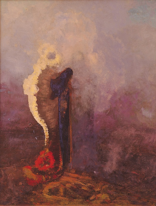 The Painting - The Dream  by Odilon Redon