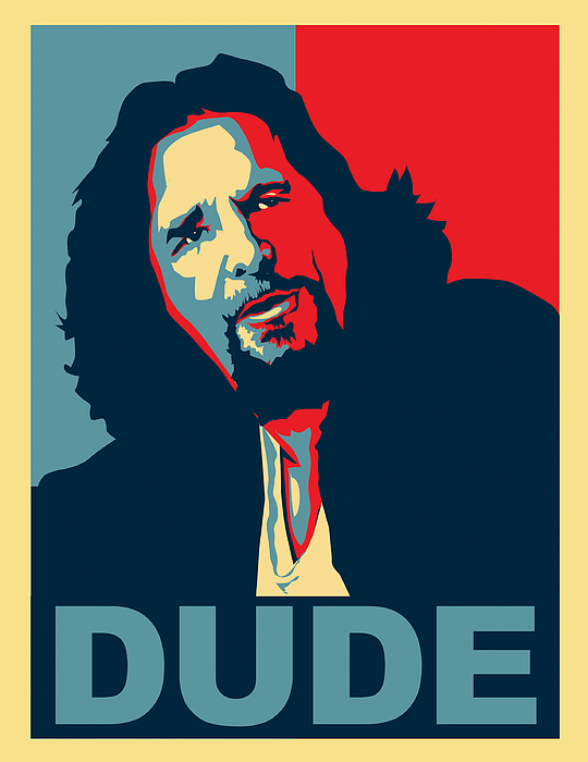 The Dude Digital Art - The Dude Abides by Christian Broadbent