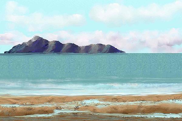 Seascape Digital Art - The Edge by Tony Rodriguez