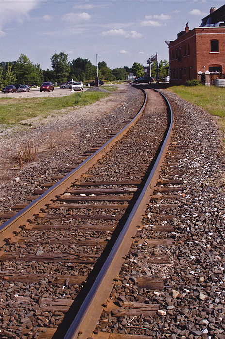 Train Photograph - The Edge by Xn Tyler