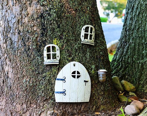 Elf Photograph - The Elf House by Paul Ward