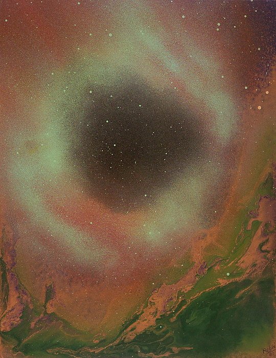 The Eye Of Nowhere Painting by Robie Julian