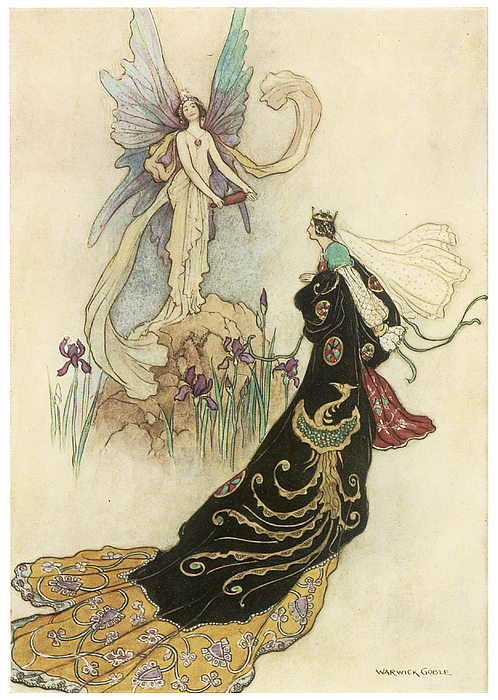 Warwick Goble Painting - The Fairy Book by Warwick Goble