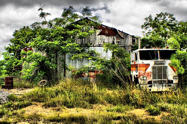 Truck Photograph - The Final Stop by Greg Sharpe