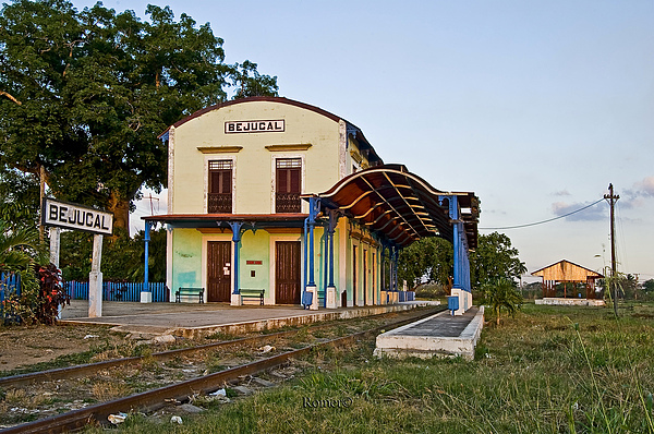 Station Photograph - The First In Latin America by Mario Romero Orta