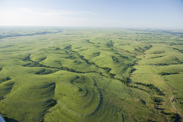 Tallgrass Prairie National Preserve Photograph - The Flint Hills Of Kansas by Jim Richardson