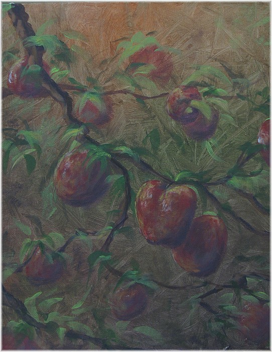 Fruit Painting - The Forbidden Fruit by Kenneth McGarity