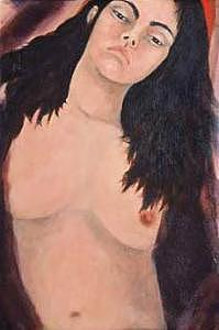 Metis Artist Painting - The Germans Wife by Sherry Leigh Williams
