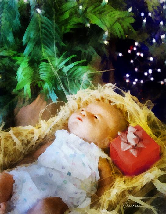 Child Digital Art - The Gift by Francesa Miller