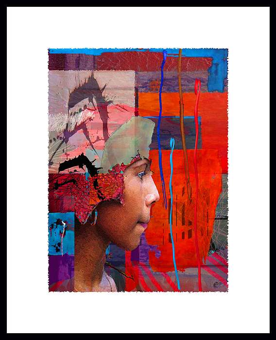 Portrait Painting - The Girl From Costa Rica by Graham Hiskett