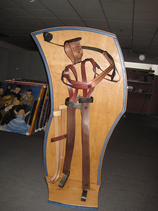 Sports Sculpture - The Golfer by Marko Martinez