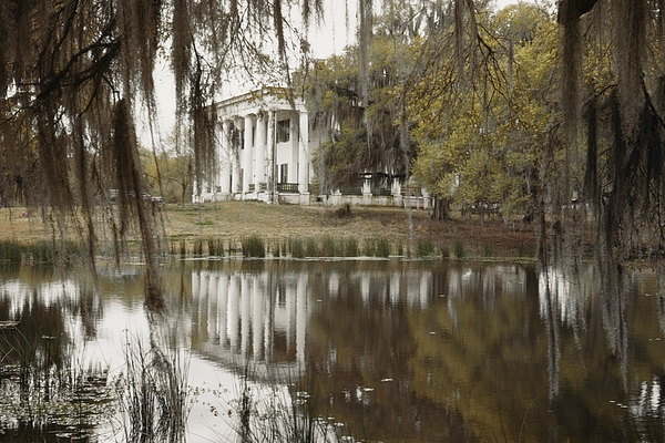 Estate Homes Photograph - The Greenwoood Plantation Home by J. Baylor Roberts