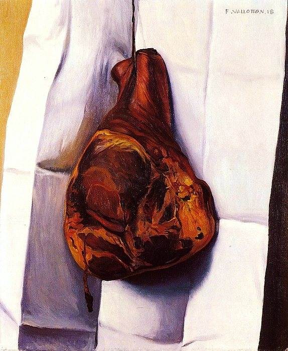 Pd Painting - The Ham by Pg Reproductions