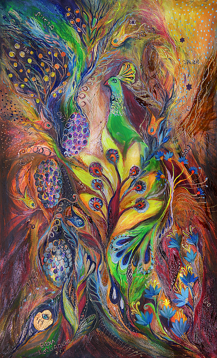 The Harvest Time Painting by Elena Kotliarker