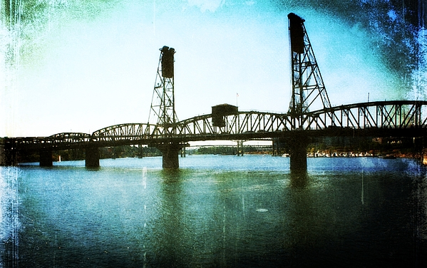 Bridges Photograph - The Hawthorne Bridge by Cathie Tyler