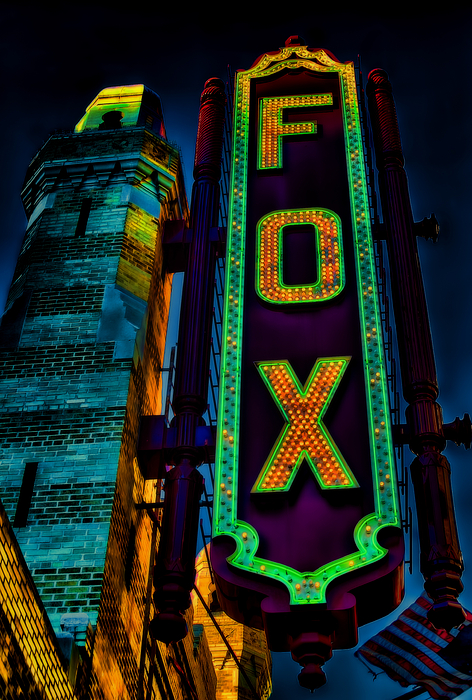 Atlanta Photograph - The Historic Fox Theatre by Kelly Rader