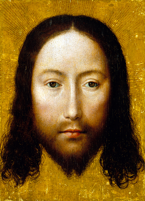 Jesus Christ Painting - The Holy Face by Flemish School