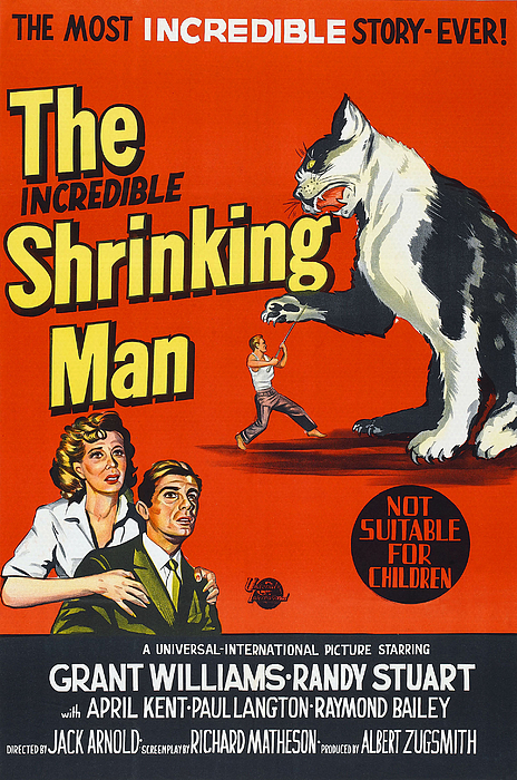 1950s Poster Art Photograph - The Incredible Shrinking Man, Bottom by Everett