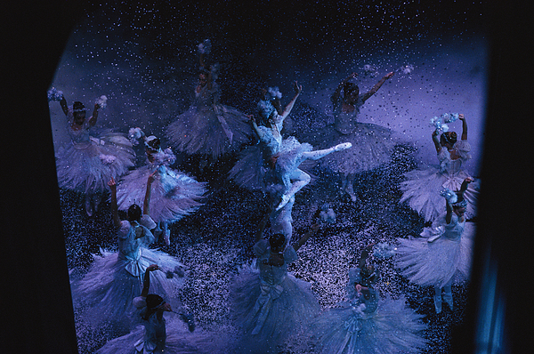 Indoors Photograph - The Joffrey Ballet Dances The by Sisse Brimberg
