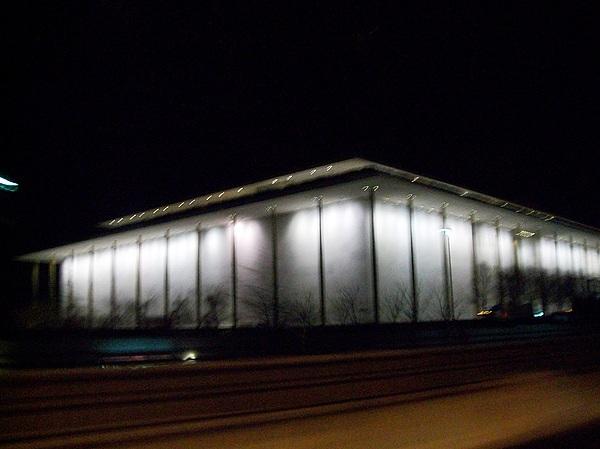 Photographs Photograph - The Kennedy Center by Fareeha Khawaja