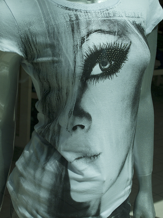 T-shirt Photograph - The Lady From Oz by Carl Purcell