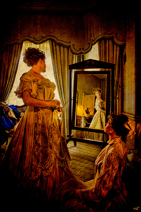Dress Photograph - The Lady Of The House by Chris Lord