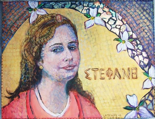 Portrait Painting - The Lady Stephanie by Lee Anne Stieglitz