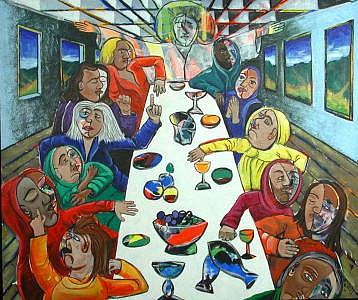 Last Painting - The Last Supper by Rollin Kocsis