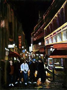 Paris Painting - The Latin Quarter Paris by Darr Sandberg