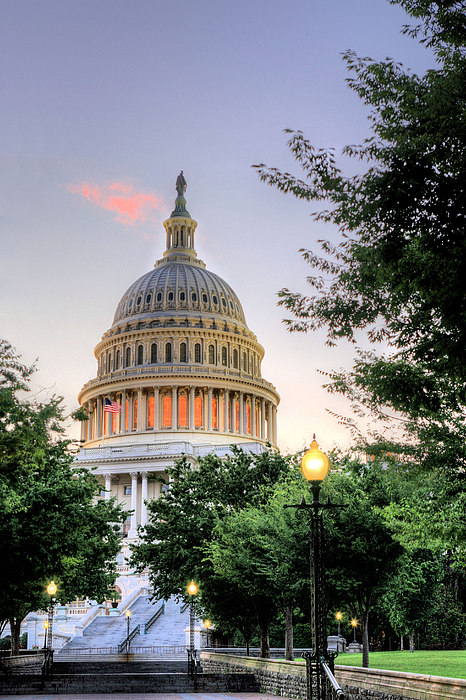 Congress Photograph - The Legislative Branch by JC Findley