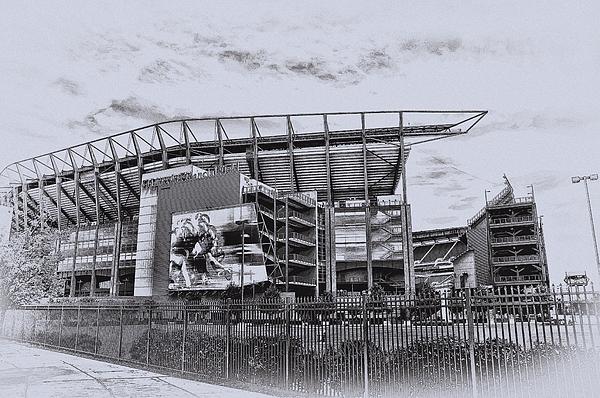 Linc Photograph - The Linc - Philadelphia Eagles by Bill Cannon