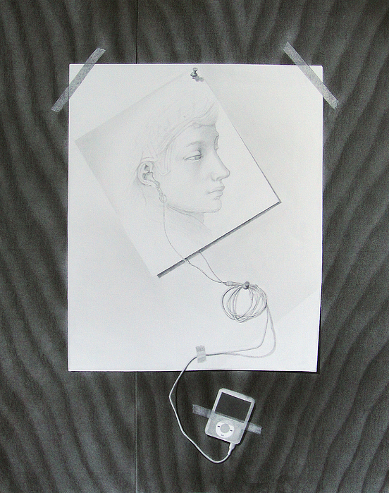Drawing Drawing - The Link by Katerina Wert