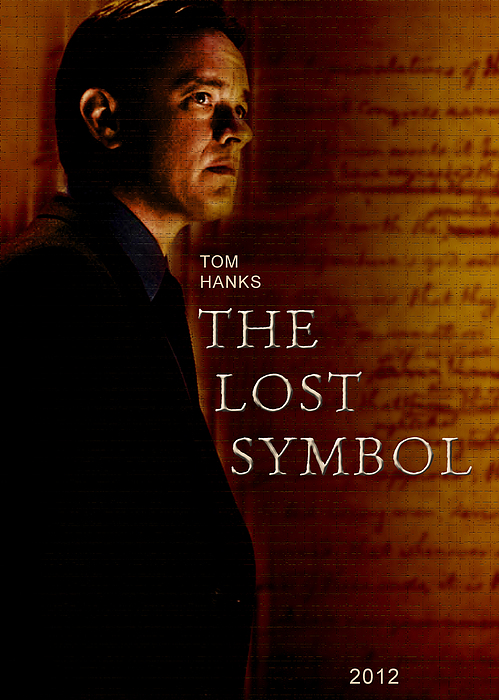 The Lost Symbol Unofficial Movie Poster Digital Art By Lorenza Dona