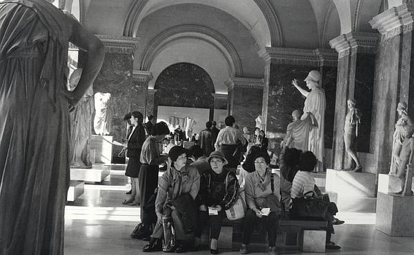 Louvre Photograph - The Louvre by Andrea Simon