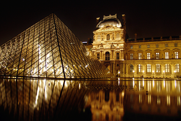 Louvre Photograph - The Louvre by Mark Currier