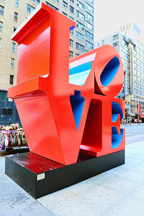 Love Photograph - The Love Sculpture by Paul Ward