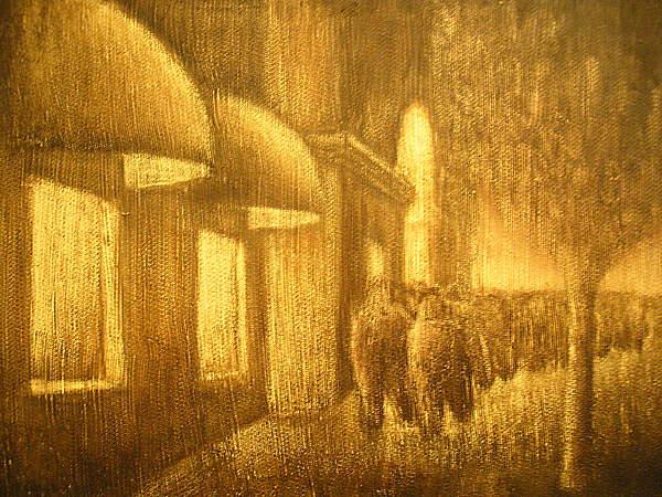 Art Sale Painting - The Lumber Exchange by Jaylynn Johnson