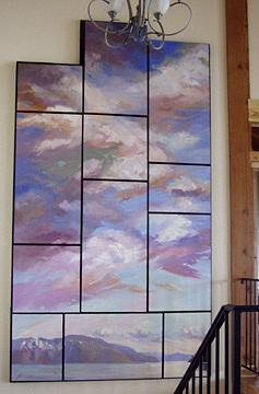 Betty Billups Painting - The Monarchs by Billups Fine Art