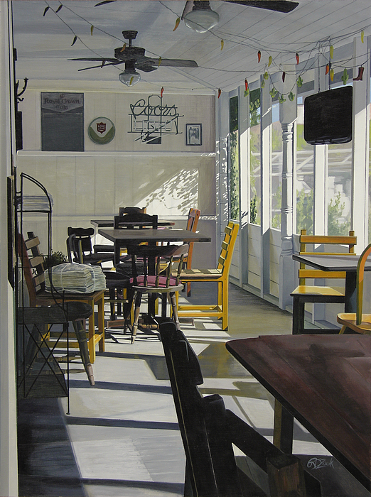 Interior Painting - The Morning Paper by Rebecca Zook