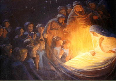 The Nativity Painting By Dallas Pavone
