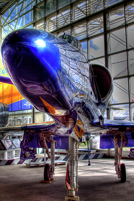 Jet Photograph - The Navys Blue Angel by David Patterson